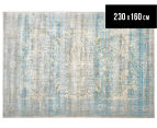 Belle Exquisite 230x160cm Medium Rug - Mist 1
