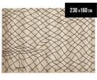 Bedouin Tribal Reflections 230x160cm Medium Plush Rug - Cream 1