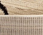 Bedouin Tribal Etching 230x160cm Medium Plush Rug - Cream 6