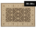 Arya Beauty Classic Collection Estelle 290x200cm Large Rug - Brown 1