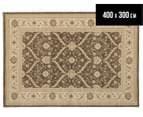 Arya Beauty Classic Collection Estelle 400x300cm XXL Rug - Brown 1