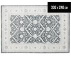 Arya Beauty Classic Collection Estelle 330x240cm X Large Rug - Navy 1