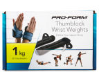Pro-Form 1kg Thumblock Wrist Weights 1