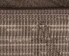 Bedouin Tribal Grid 330x240cm X Large Plush Rug - Brown 6