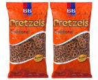 2 x Beigel & Beigel Traditional Pretzels 500g 1
