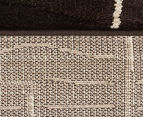 Bedouin Tribal Riverbed 290x200cm Large Plush Rug - Chocolate 6