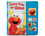 Sesame Street Potty Time with Elmo Sound Book 1