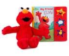My Friend Elmo Sound Book & Plush Toy 2