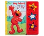 My Friend Elmo Sound Book & Plush Toy 4