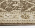 Arya Beauty Classic Collection Estelle 290x200cm Large Rug - Brown 4