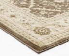 Arya Beauty Classic Collection Estelle 330x240cm X Large Rug - Brown 3