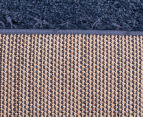 Oxford Matte 230x160cm Medium Shag Rug - Denim 5