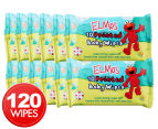 12 x Swisspers Elmo Baby Wipes 10pk 1