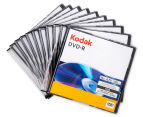 Kodak DVD-R Printable Surface 4.7GB/16X Discs 10-Pack 1