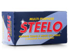 2 x Steelo Multi-Purpose Steel Wool Pads 5pk 2