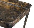 Lustre Antique 61.5cm Golf Butler's Table 4