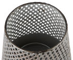 Avoca 18x30cm Candleholder & Vase - Gold/Grey Wash 4