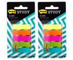 2 x Post-It Study Flags 100pk 1