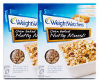 2 x Weight Watchers Oven Baked Nutty Muesli 495g 1
