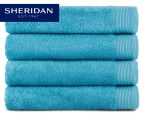 POP by Sheridan Hue Bath Towel 4-Pack - Teal 1