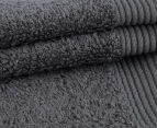 POP by Sheridan Hue Bath Towel 4-Pack - Charcoal 2