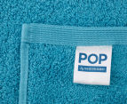 POP by Sheridan Hue Bath Towel 4-Pack - Teal 4