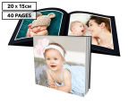 Personalised 20 x 15cm Soft Cover Photo Book - 40 Pages 1