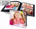 Personalised 20 x 20cm Soft Cover Photo Book - 60 Pages 1