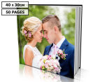Personalised 40 x 30cm Hard Cover Photo Book - 50 Pages 1