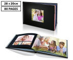 Personalised 28 x 20cm Leather-Look Cover Photo Book - 80 Pages 1