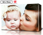 Personalised 50 x 75cm Rectangle Canvas 1