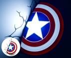 3D Marvel Captain America Shield Wall Light - Red/White/Blue 1