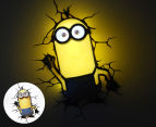 3D Universal Minions Kevin Wall Light - Yellow 1
