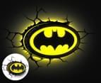 3D Batman Emblem Wall Light - Black/Yellow 1