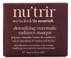 Nu'trir Detoxifying Enzymatic Radiance Masque 30mL 3