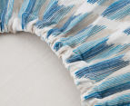 Petit Nest Cot Fitted Sheet - Blue 5