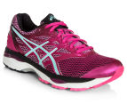 ASICS Women's GEL-Cumulus 18 Shoe - Sport Pink/Aruba Blue/Black 2