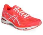 ASICS Women's GT-1000 5 Shoe - Flash Coral/White/Peach Melba 2