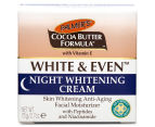 Palmer's Cocoa Butter White & Even Night Whitening Cream 75g 3