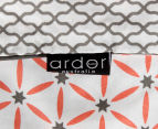 Ardor Madden Reversible Queen Bed Quilt Cover Set - Coral 5