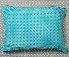 Ardor Peri Reversible Queen Bed Quilt Cover Set - Turquoise 6