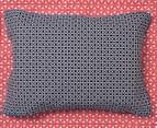 Ardor Peri Reversible Single Bed Quilt Cover Set - Navy 6