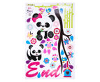 Panda & Tree Branch Wall Decal 2