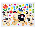 Puppy Dogs & Paw Prints Wall Decal 2