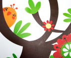 Birds Swinging On A Branch Wall Decal 4