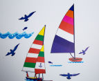 Sailing Boats Wall Decal 4