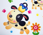 Puppy Dogs & Paw Prints Wall Decal 4