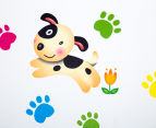 Puppy Dogs & Paw Prints Wall Decal 6