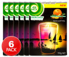 6 x Air Wick Multicolour Candle Amber Mandarin 150g 1