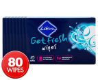 8 x Libra Get Fresh Wipes 10pk 1